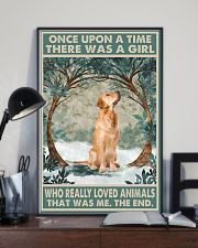 Golden Retriever Once Upon A Time Animals 11x17 Poster lifestyle-poster-2