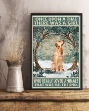 Golden Retriever Once Upon A Time Animals 11x17 Poster lifestyle-poster-3