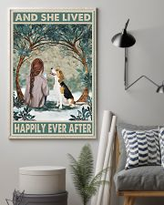 Beagle Happily Ever After 11x17 Poster lifestyle-poster-1