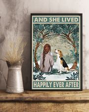 Beagle Happily Ever After 11x17 Poster lifestyle-poster-3