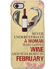 Wine A Woman February Phone Case i-phone-7-case