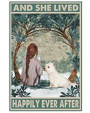 Westie Happily Ever After 11x17 Poster front