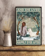Westie Happily Ever After 11x17 Poster lifestyle-poster-3