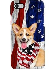 Corgi Usa Flag Phone Case i-phone-8-case