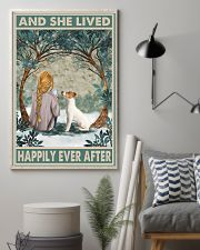 Jack Russell Happily Ever After Blonde 11x17 Poster lifestyle-poster-1