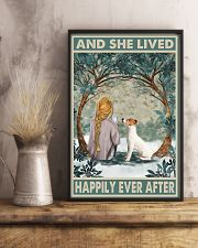 Jack Russell Happily Ever After Blonde 11x17 Poster lifestyle-poster-3