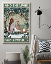 Weimaraner Happily Ever After 11x17 Poster lifestyle-poster-1