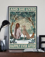 Weimaraner Happily Ever After 11x17 Poster lifestyle-poster-2