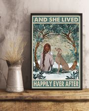 Weimaraner Happily Ever After 11x17 Poster lifestyle-poster-3