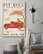 Pit bull you pick 'em 11x17 Poster lifestyle-poster-1