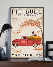 Pit bull you pick 'em 11x17 Poster lifestyle-poster-2