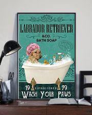 Dog Labrador Retriever Bath Soap 11x17 Poster lifestyle-poster-2