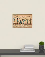 Yoga - God Says You Are 24x16 Poster poster-landscape-24x16-lifestyle-09