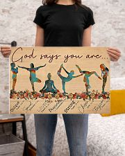 Yoga - God Says You Are 24x16 Poster poster-landscape-24x16-lifestyle-20