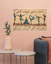 Yoga - God Says You Are 24x16 Poster poster-landscape-24x16-lifestyle-22