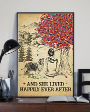 Shetland Sheepdog She Lived Happily 11x17 Poster lifestyle-poster-2
