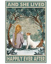 Jack Russell Happily Ever After Blonde 1 11x17 Poster front