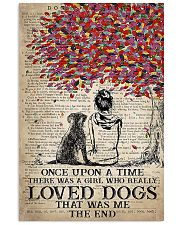dog labrador once upon 11x17 Poster front