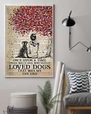 dog labrador once upon 11x17 Poster lifestyle-poster-1
