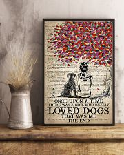 dog labrador once upon 11x17 Poster lifestyle-poster-3