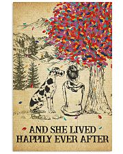 Great Dane She Lived Happily 11x17 Poster front