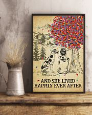Great Dane She Lived Happily 11x17 Poster lifestyle-poster-3
