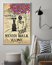 Greyhound Never Walk Alone 11x17 Poster lifestyle-poster-1