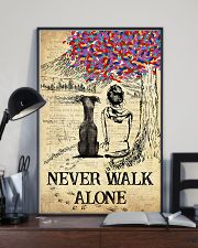 Greyhound Never Walk Alone 11x17 Poster lifestyle-poster-2