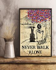 Greyhound Never Walk Alone 11x17 Poster lifestyle-poster-3