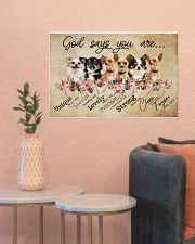 chihuahua - god says 24x16 Poster poster-landscape-24x16-lifestyle-22