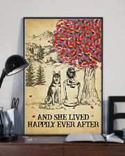 Husky She Lived Happily 11x17 Poster lifestyle-poster-2