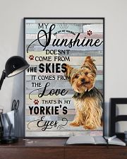 Yorkie Comes From The Love 11x17 Poster lifestyle-poster-2