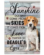 Beagle Comes From The Love 11x17 Poster front