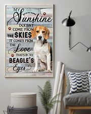 Beagle Comes From The Love 11x17 Poster lifestyle-poster-1