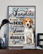 Beagle Comes From The Love 11x17 Poster lifestyle-poster-2