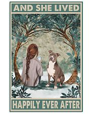 Staffordshire Terrier Happily Ever After 11x17 Poster front