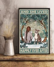 Staffordshire Terrier Happily Ever After 11x17 Poster lifestyle-poster-3