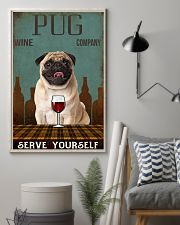 pug serve yourself 11x17 Poster lifestyle-poster-1