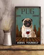 pug serve yourself 11x17 Poster lifestyle-poster-3
