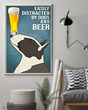 Bull Terrier and beer 11x17 Poster lifestyle-poster-1
