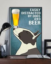 Bull Terrier and beer 11x17 Poster lifestyle-poster-2
