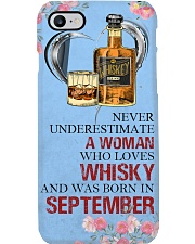 Whisky A Woman September Phone Case i-phone-8-case
