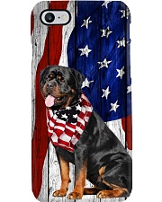 Rottweiler Usa Flag Phone Case i-phone-7-case