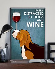 Dog Beagle And Wine 11x17 Poster lifestyle-poster-2