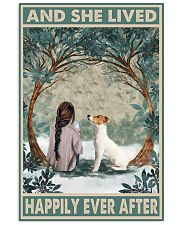 Jack Russell Happily Ever After Dark Brown 11x17 Poster front
