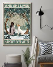 Jack Russell Happily Ever After Dark Brown 11x17 Poster lifestyle-poster-1