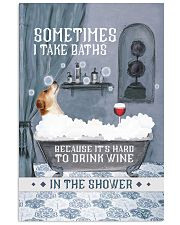 Jack Russell I Take Baths 11x17 Poster front