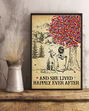 Doberman Pinscher She Lived Happily 11x17 Poster lifestyle-poster-3