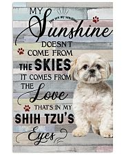 Shih Tzu Comes From The Love 11x17 Poster front