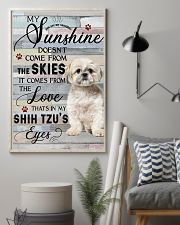 Shih Tzu Comes From The Love 11x17 Poster lifestyle-poster-1